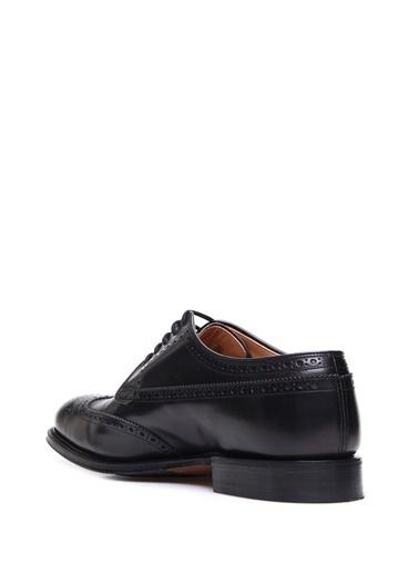 Church's %100 Deri Oxford Ayakkabı Siyah